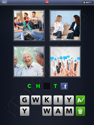 4 Pics 1 Word Level 1124 Solution