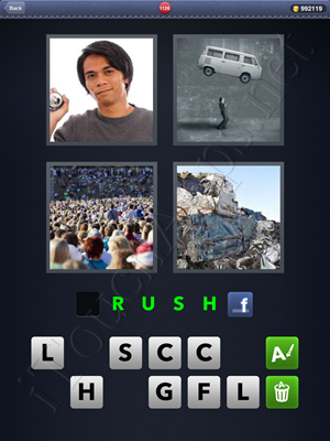 4 Pics 1 Word Level 1126 Solution