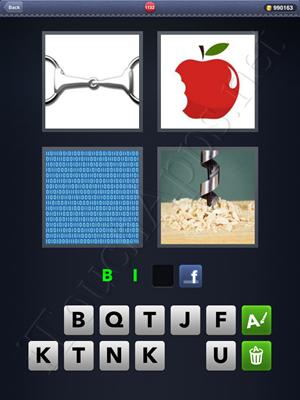 4 Pics 1 Word Level 1132 Solution