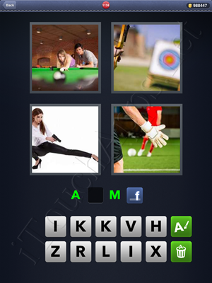4 Pics 1 Word Level 1138 Solution
