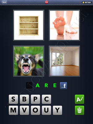 4 Pics 1 Word Level 1142 Solution