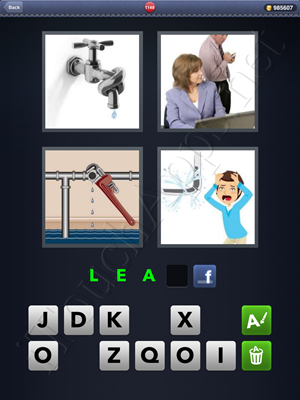 4 Pics 1 Word Level 1148 Solution