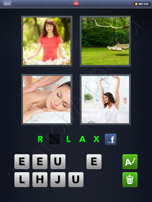 4 Pics 1 Word Level 1162 Solution