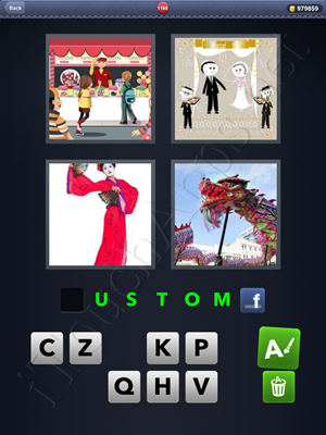 4 Pics 1 Word Level 1166 Solution