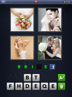 4 Pics 1 Word Level 1175 Solution
