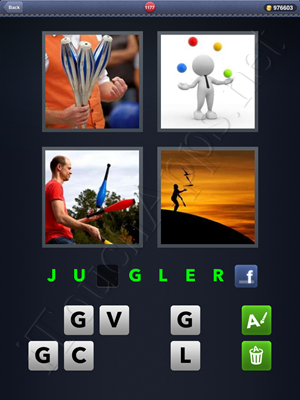 4 Pics 1 Word Level 1177 Solution