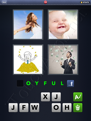 4 Pics 1 Word Level 1180 Solution