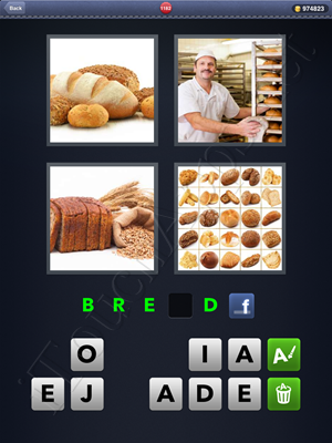 4 Pics 1 Word Level 1182 Solution