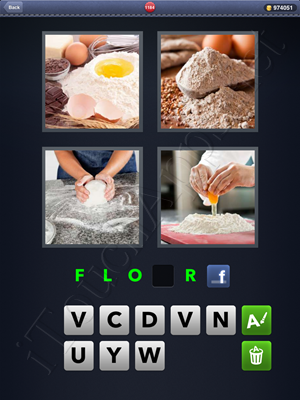 4 Pics 1 Word Level 1184 Solution