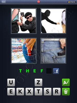 4 Pics 1 Word Level 1190 Solution