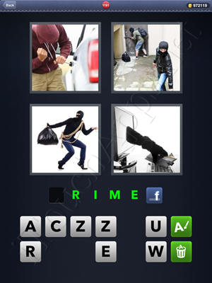 4 Pics 1 Word Level 1191 Solution
