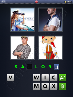 4 Pics 1 Word Level 1193 Solution