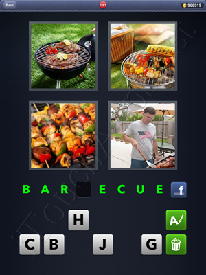 4 Pics 1 Word Level 1201 Solution