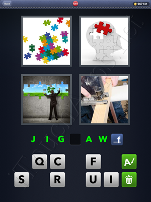 4 Pics 1 Word Level 1204 Solution