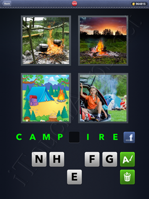 4 Pics 1 Word Level 1210 Solution