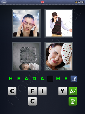 4 Pics 1 Word Level 1211 Solution
