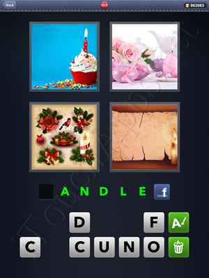 4 Pics 1 Word Level 1212 Solution