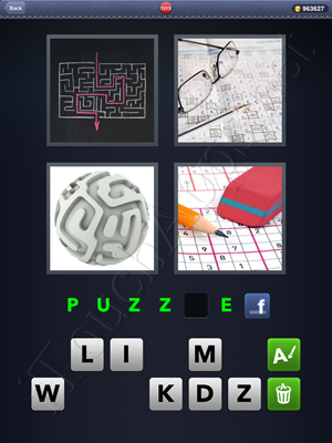 4 Pics 1 Word Level 1213 Solution