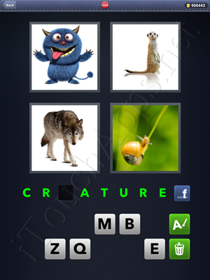 4 Pics 1 Word Level 1232 Solution