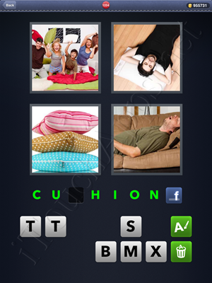4 Pics 1 Word Level 1234 Solution