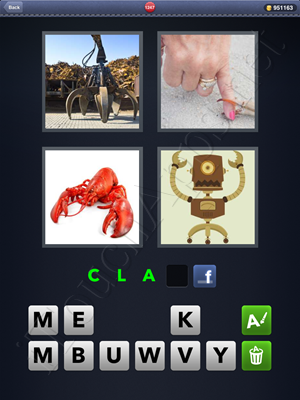 4 Pics 1 Word Level 1247 Solution