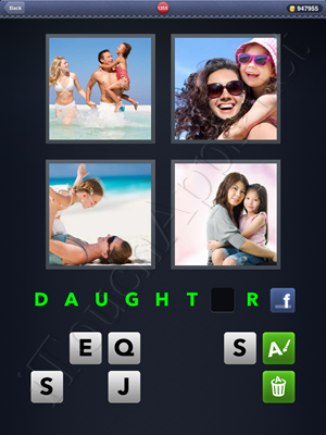 4 Pics 1 Word Level 1255 Solution