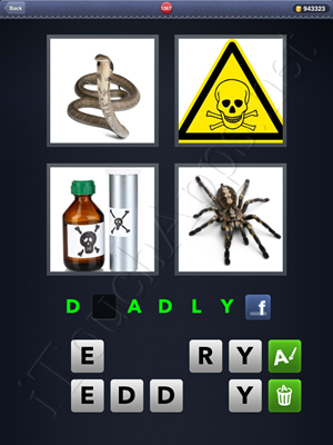 4 Pics 1 Word Level 1267 Solution