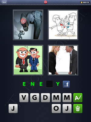 4 Pics 1 Word Level 1276 Solution