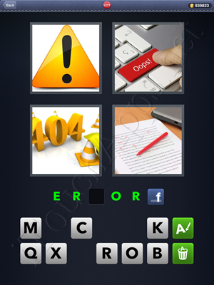 4 Pics 1 Word Level 1277 Solution