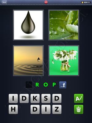 4 Pics 1 Word Level 1279 Solution