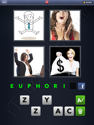 4 Pics 1 Word Level 1291 Solution