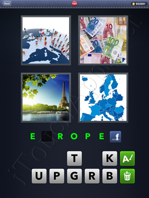 4 Pics 1 Word Level 1294 Solution