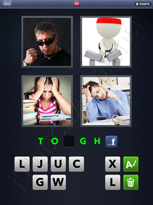 4 Pics 1 Word Level 1296 Solution