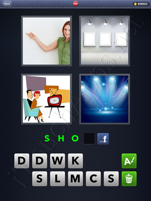 4 Pics 1 Word Level 1307 Solution