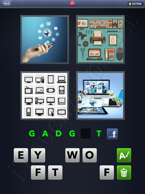 4 Pics 1 Word Level 1311 Solution