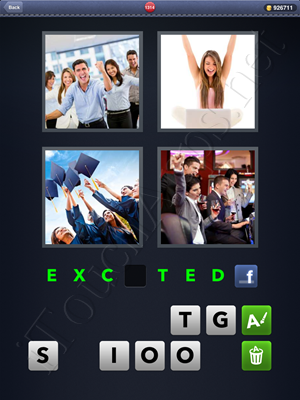 4 Pics 1 Word Level 1314 Solution