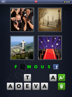 4 Pics 1 Word Level 1315 Solution