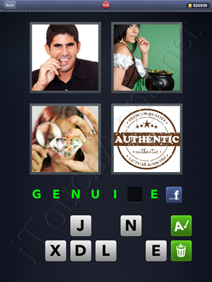 4 Pics 1 Word Level 1316 Solution