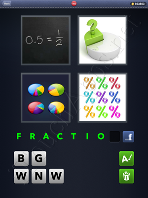 4 Pics 1 Word Level 1322 Solution