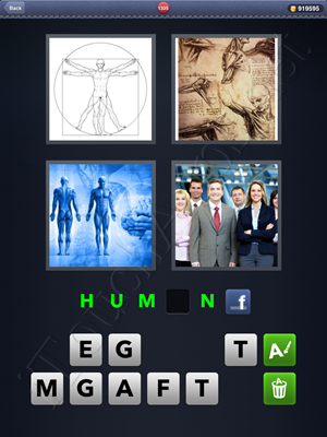 4 Pics 1 Word Level 1335 Solution