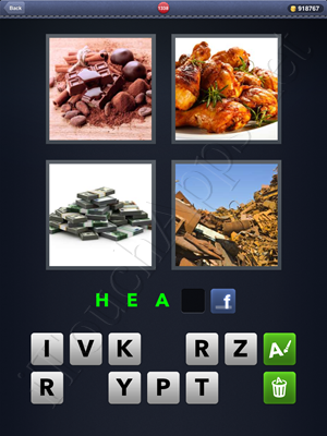 4 Pics 1 Word Level 1338 Solution