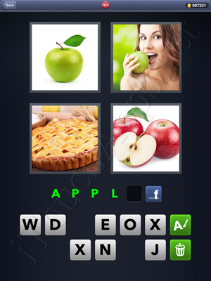 4 Pics 1 Word Level 1374 Solution