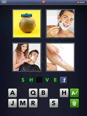 4 Pics 1 Word Level 1383 Solution