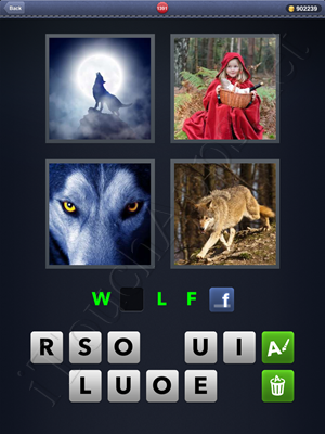 4 Pics 1 Word Level 1391 Solution