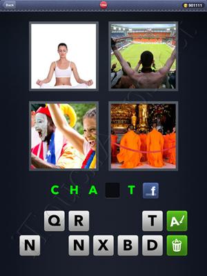 4 Pics 1 Word Level 1394 Solution
