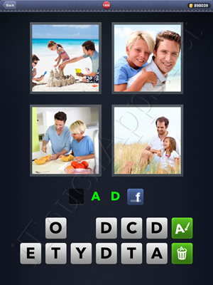 4 Pics 1 Word Level 1406 Solution
