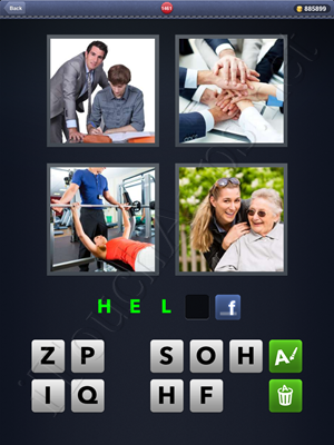 4 Pics 1 Word Level 1461 Solution