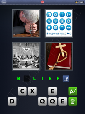 4 Pics 1 Word Level 1493 Solution