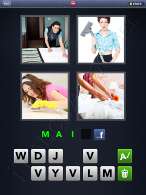 4 Pics 1 Word Level 1494 Solution