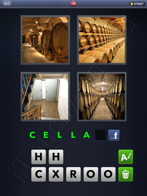 4 Pics 1 Word Level 1498 Solution